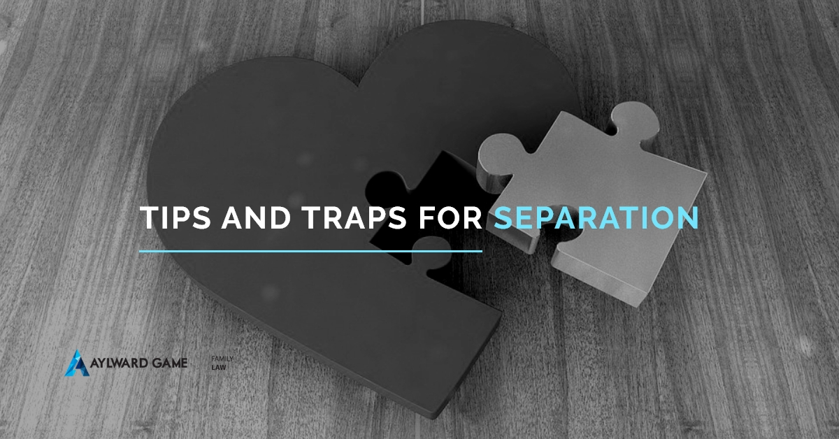 Tips And Traps For Separation
