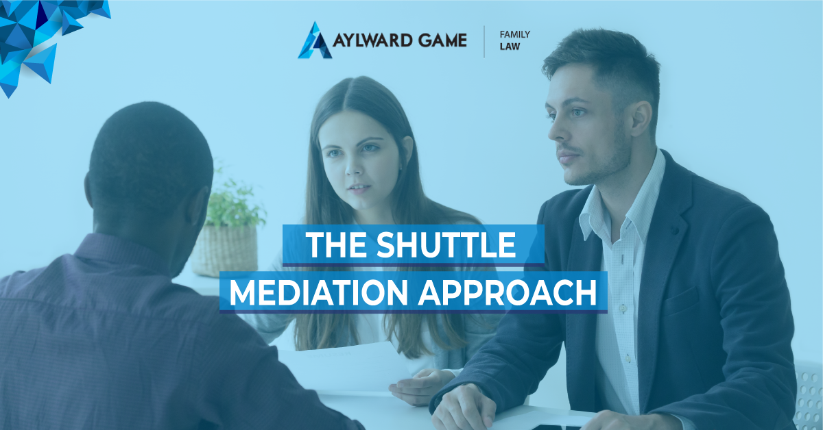 The Shuttle Mediation Approach