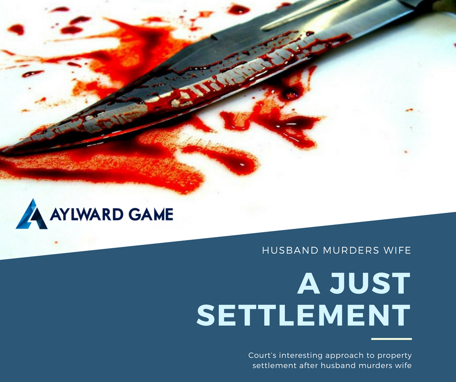 Husband Murders Wife For Property Settlement & Gets Just Settlement
