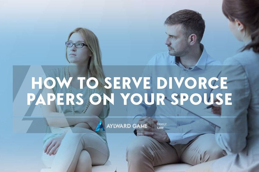 How To Serve Divorce Papers On Your Spouse