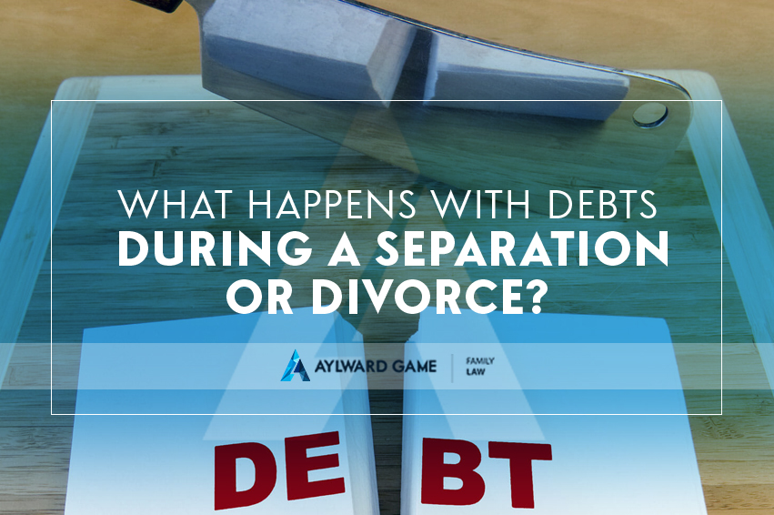 What Happens With Debts During a Separation or Divorce?