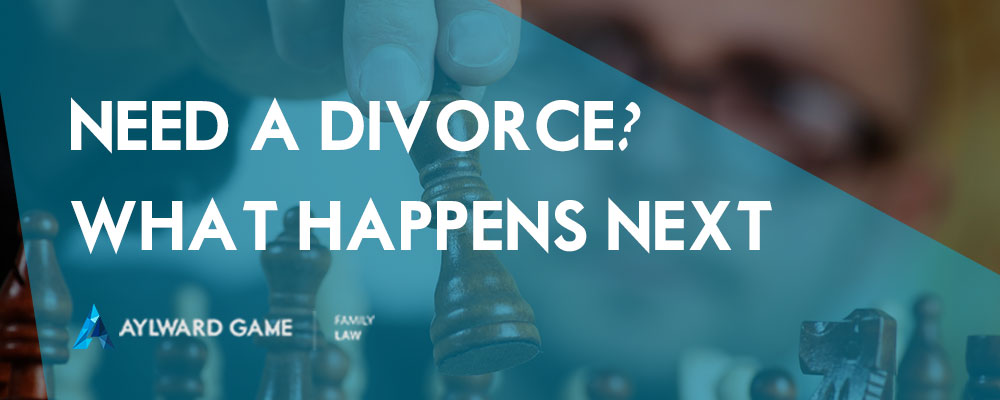 Need A Divorce? What happens next…