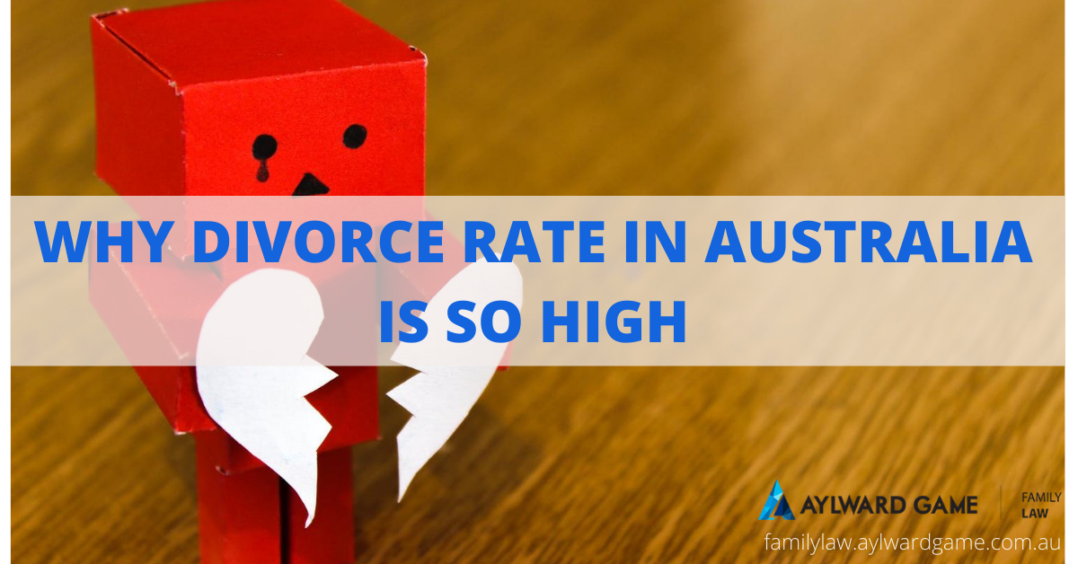 Why Divorce Rate in Australia is So High?