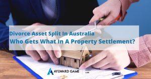 Property settlement after divorce