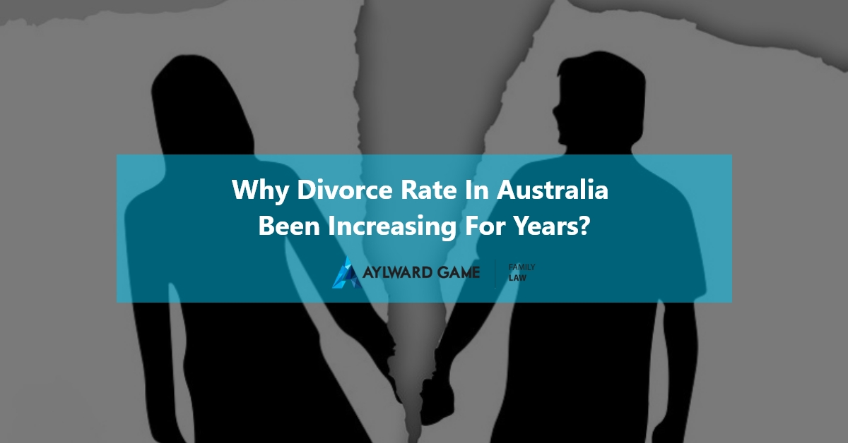 Why Divorce Rate in Australia been increasing for years?